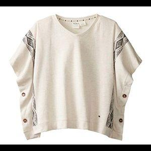 Roxy Girl Poncho Sweater